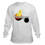 COLLIDING ORBITS Long Sleeve Top