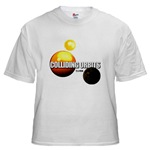 COLLIDING ORBITS Men's T-Shirt