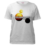 COLLIDING ORBITS Women's T-Shirt